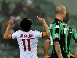 Nach über drei Monaten traf er mal wieder: Mohamed Salah.