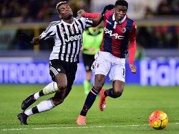 Paul Pogba gegen Ibrahima Mbaye