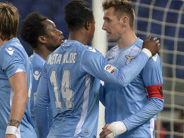 Klose macht's f�r Lazio doppelt - Higuain bleibt cool