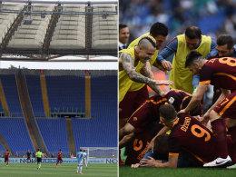 Fan-Boykott beim 4:1-Derbysieg der Roma - Pioli entlassen
