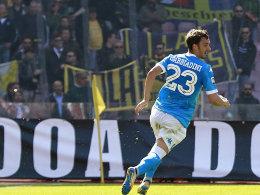 Vor dem Topspiel: Napoli hofft noch auf den Scudetto