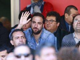 Higuain gegen Roma wieder dabei
