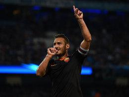 Totti verl�ngert in Rom: