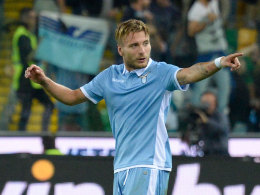 Lazio feiert Immobile - Leitner gibt Serie-A-Debüt