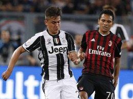 LIVE! Milan bestreitet wieder ein Topspiel - gegen Juve