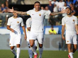 Neapel stark - Roma müht sich zum Sieg