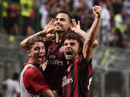 Milan feiert Suso - Napoli dreht auf
