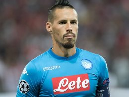 Tattoo-Fan Hamsik vor Maradona?