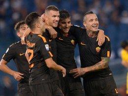 Starke Roma: Dzeko-Marke und Florenzi-Comeback