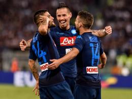 Neapel furios! Drei Tore in fünf Minuten