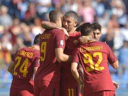 LIVE! Roma und Napoli schadlos - auch Juve im Derby?