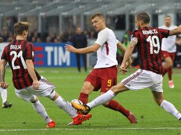Roma dankt Dzeko - Juve schenkt 2:0 her