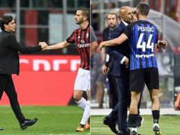 Inter vs. Milan: Berlusconi, Gradmesser, Schicksalsspiel
