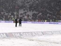 Heftige Schneefälle: Spielausfall in Turin