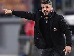Schnee in Rom: Gattuso genervt vom Wetter
