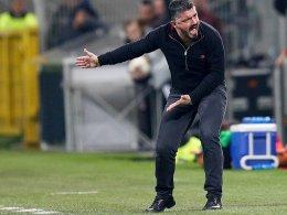 Gattuso enttäuscht: