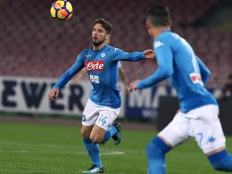 LIVE! Macht Napoli Boden auf Juventus gut?