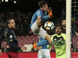 Juve spürt Napolis Atem wieder