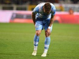Saison-Aus? Lazio-Ass Immobile verletzt