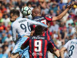 Lazio punktet spät - Endspiel gegen Inter