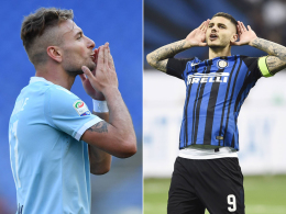 Showdown um Rang vier: Inter fordert Lazio