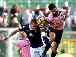 Dzeko trifft doppelt - Bitterer Tag für Juve und Dani Alves