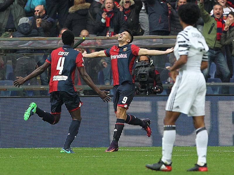 Serie A: Juventus Turin verliert in Genua
