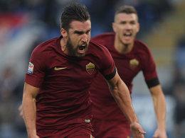 Roma gewinnt tristes Derby - Milan punktgleich