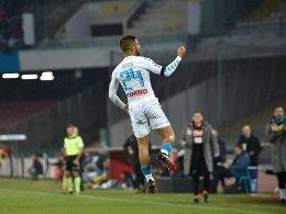 LIVE! Napoli kann vorlegen, ehe das Turiner Derby steigt