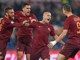 Dank Nainggolan: Roma bleibt an Juve dran