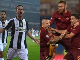 Juve erwartet die Roma: