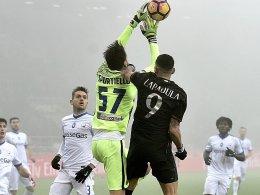 0:0: Milan lässt Punkte liegen