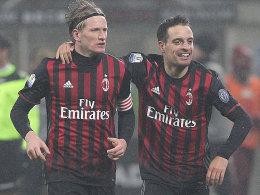 Milan dankt Bonaventura - Turbanträger Hart