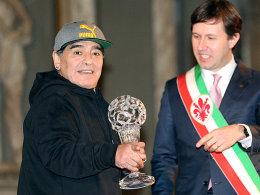 Italiens Ruhmeshalle: Maradona ist dabei