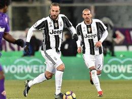 Higuain vs. Immobile: Juventus empfängt Lazio