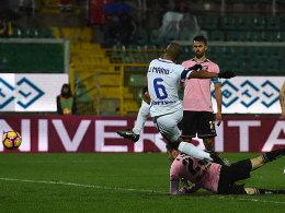 Inter siegt dank Mario - Dzeko & Co. später