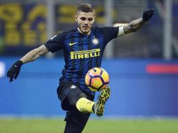 LIVE! Inter attackiert Milan - Dzeko & Co. später