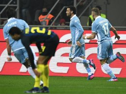 Tore, Platzverweise, Chaos: Lazio kegelt Inter raus