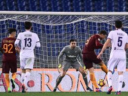 Starker Dzeko, starker Rekord, starke Roma
