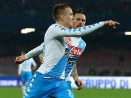 2:0 - Napoli schießt sich warm für Real