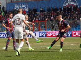 Roma-Pflichtsieg in Crotone - Inter und Atalanta halten Kurs