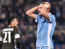 Milan gleicht spät aus - Lazio tritt auf der Stelle