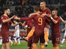 Nach Roma-Rekord: Spalletti adelt Dzeko