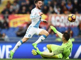 Napoli gewinnt Topspiel - Elfmeterfest bei Milan