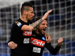 Neapel hält sich Lazio vom Leib - Inter blamiert sich