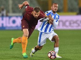 Juventus unaufhaltsam - Dzeko-Ärger bei Roms Pflichtsieg