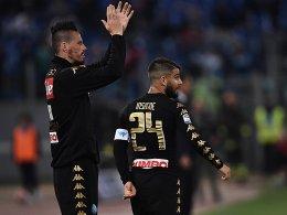 LIVE! Setzt Neapel die Roma unter Druck?
