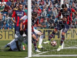 Milan nur remis in Crotone - Inter unterliegt Neapel