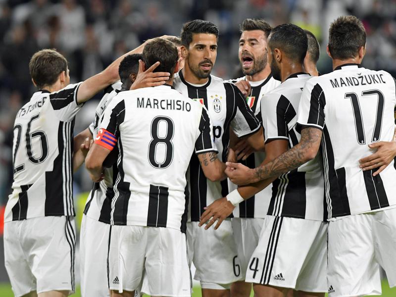 Bejubeln die Spieler von Juventus am Wochenende die Meisterschaft?