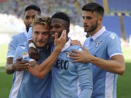 Wahnsinn bei Lazio - Palermo zweiter Absteiger